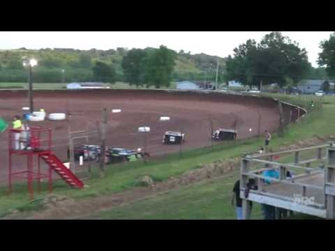 Midway Speedway | 6.5.16 | Late Models | Heat 3