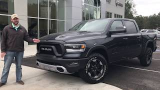 2019 Ram 1500 Rebel Walk Around with Cory Herrington
