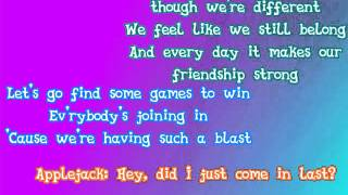 MLP: Rainbow Rocks - Perfect Day for Fun - Lyric