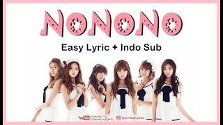 Easy Lyric APINK - NONONO by GOMAWO [Indo Sub]