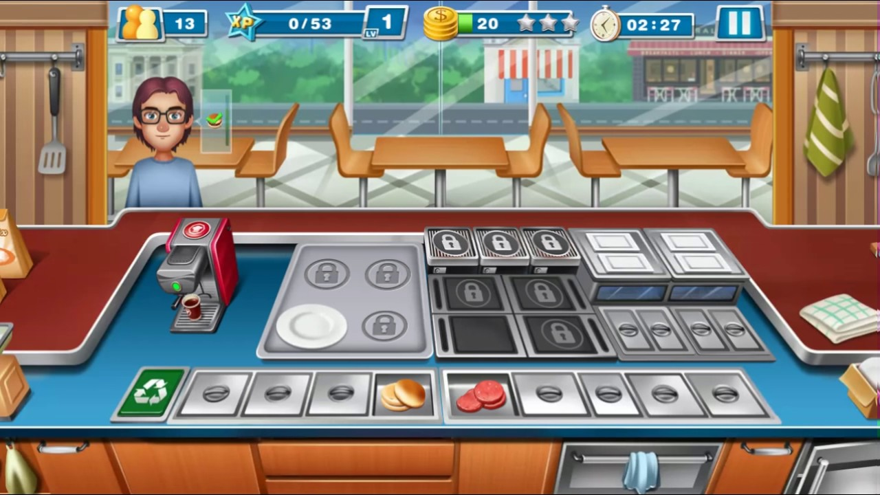 Crazy Cooking Chef - Gameplay Android - - YouTube