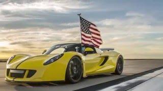هينيسي فينوم GT سبايدر تحطم الرقم القياسي لأسرع سيارة مكشوفة في العالم!