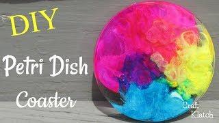 Resin Petri Dish Coaster Tutorial DIY ~ Another Coaster Friday ~ Craft Klatch