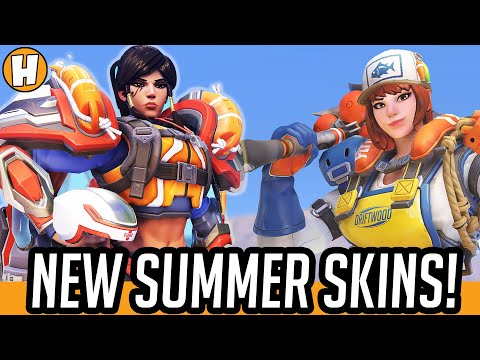 2020 Halloween Interactions Overwatch List Overwatch Summer Games 2020   NEW Event Skins, Highlight Intros