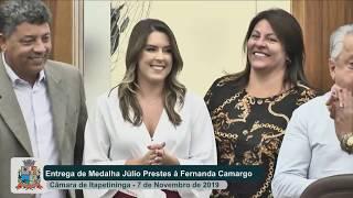 Sessão Solene - Fernanda Camargo - 2019