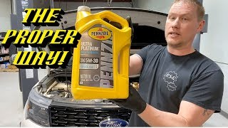 2010-2020 Ford 3.5L EcoBoost Engines: Important Tips For a Proper Oil Change!