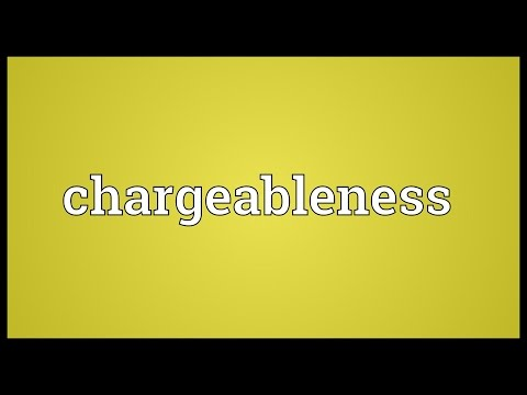Header of chargeableness