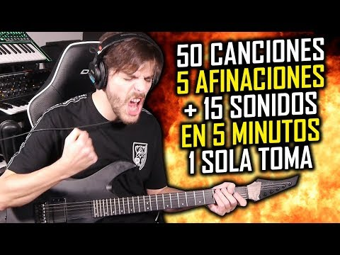 50 Intros de Rock/Metal en 5 minutos (Epic Mode) | ShaunTrack