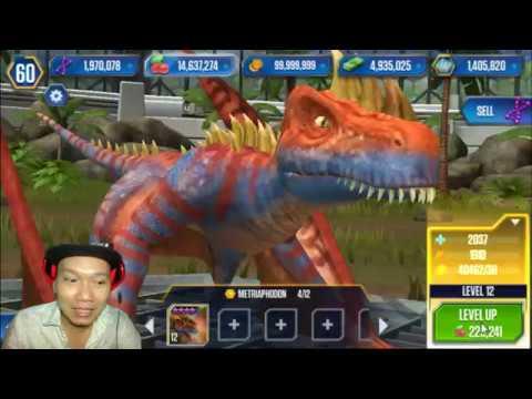 Jurassic World The Game HNT chơi game nuôi khủng long Jurassic World HD 1080 HNT Channel New 51