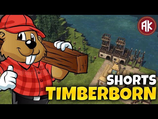 Conheça TIMBERBORN! - Construa uma Cidade de CASTORES #shorts