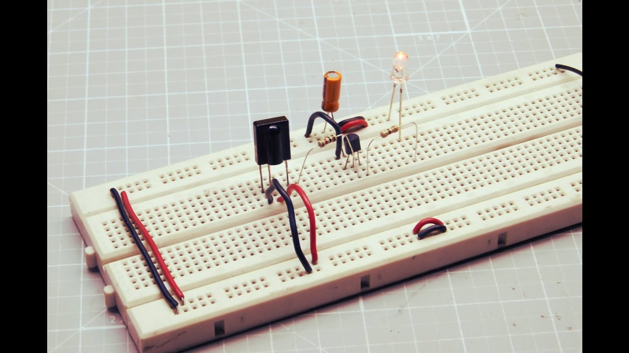 Breadboard Projects For Beginners Infrared Remote Tester Youtube Ir Control Circuit Schematic