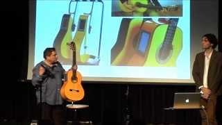 PACO ORTEGA  presenta las guitarras F home Studio en Berklee