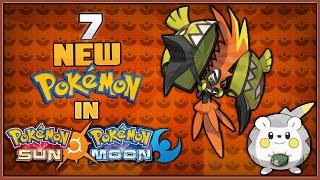 7 New Pokémon in Pokémon Sun and Pokémon Moon