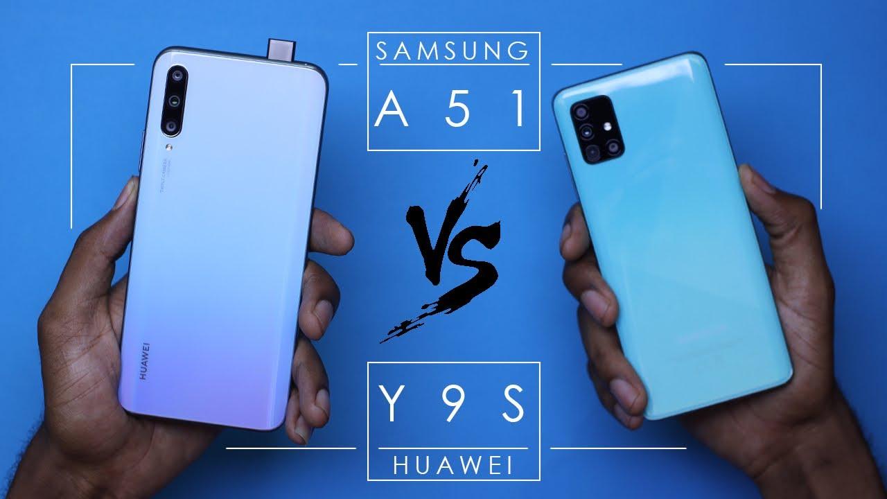 Photo of SAMSUNG GALAXY A51 vs HUAWEI Y9s ULTIMATE COMPARISON //Y9S VS A51 – سامسونج