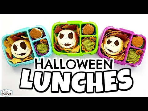 School Lunch Ideas For HALLOWEEN Week 2 🎃 QUICK & EASY Lunches For Kids