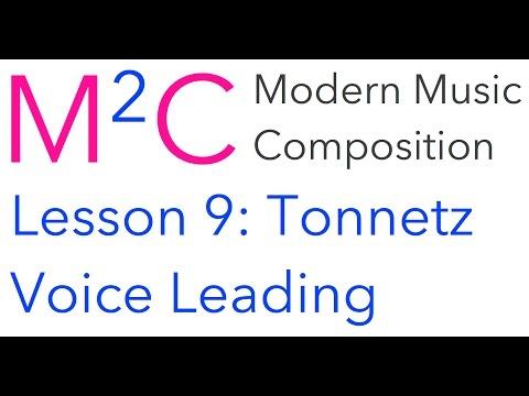 M2C Lesson 9: Tonnetz and Voice Leading