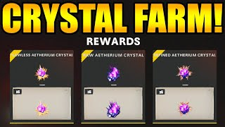INSANE *FLAWLESS / REFINED* Aętherium CRYSTAL FARM! Best METHOD to get FLAWLESS and REFINED Crystals
