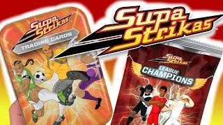Supa Strikas ⭐⚡ League Champions ⭐⚡ Trading Cards ⭐⚡  po polsku