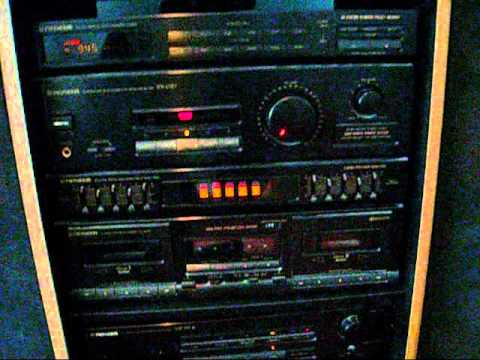 old sony home sound system. pioneer stereo system from 1990 old sony home sound