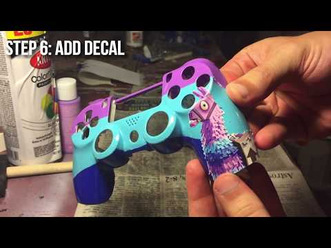 How to make custom Fortnite llama PS4 Controller