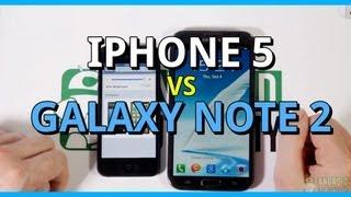 apple iphone 5 vs samsung galaxy note 2
