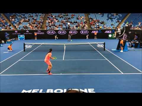 Bernard Tomic v Tommy Paul AO 2018 Men's singles qualifying HD