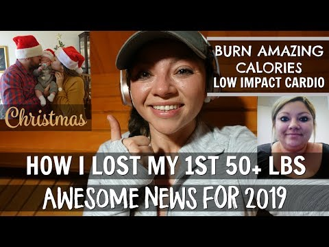 MY WEIGHT LOSS TIP | BIG NEWS FOR 2019 | LOW IMPACT CARDIO | CHRISTMAS | GRACIE'S DIETBET