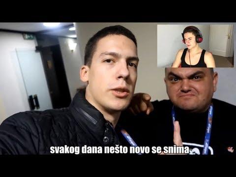 BakaPrase ft. Lazic - Balkanska Scena * MOJA REAKCIJA *