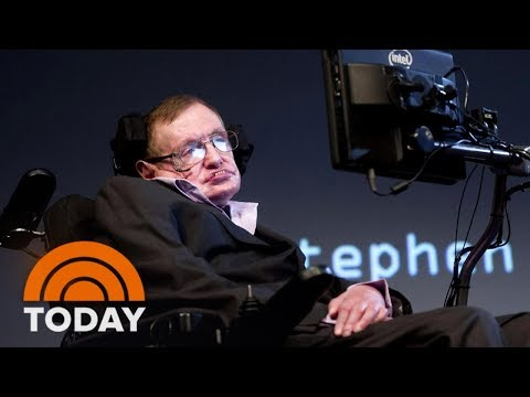 Stephen Hawking Dies At 76, The Physicist Who Wrote 'A Brief History Of Time | TODAY