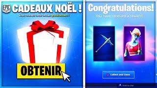 🔴 NEW FREE CADEAUX of NOEL!! BOUTIQUE of DECEMBER 31st! LIVE FORTNITE EN
