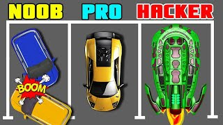 Parking Jam 3D Noob Vs Pro Vs Hacker