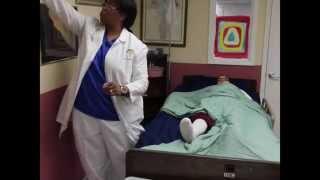 Ohio STNA Skill #5: Applying Antiembolic Stocking To One Leg