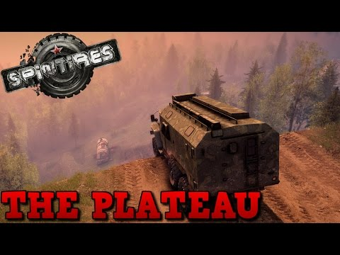 SpinTires | The Plateau | Map Mod