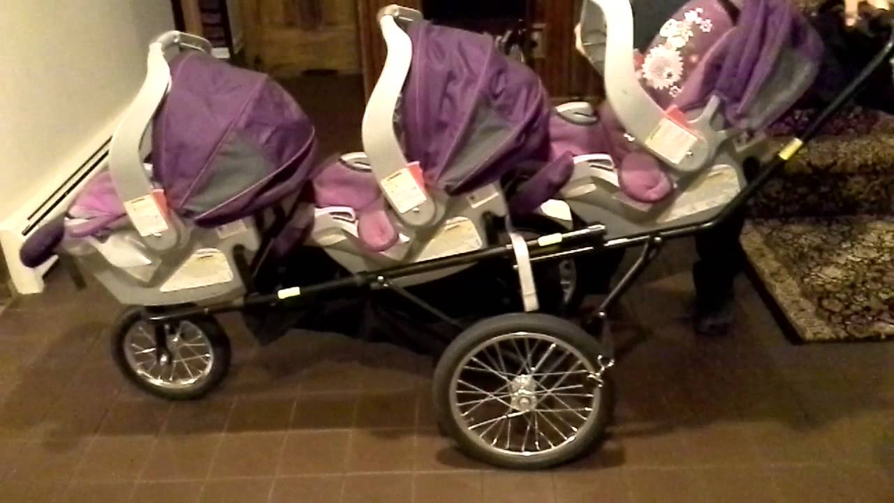 Triple Decker Stroller - YouTube