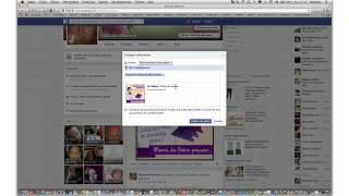 Facebook: partager sur plusieurs murs en même temps