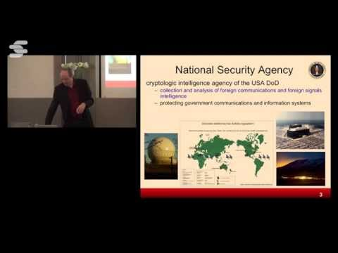 Cryptographic and Information Security in the Post-Snowden Era - Bart Preneel