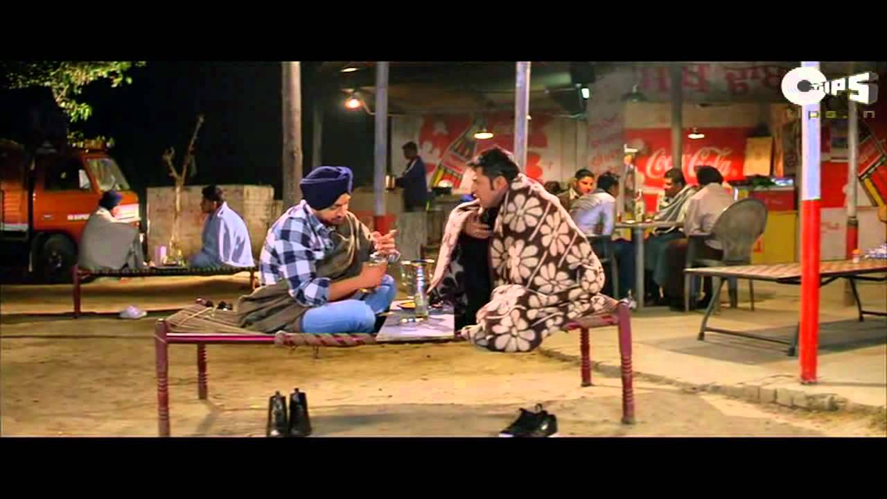 Download Diljit and Gippy drinking at Dhaba - Really Funny - Jihne Mera Dil Luteya - Movie Scenes