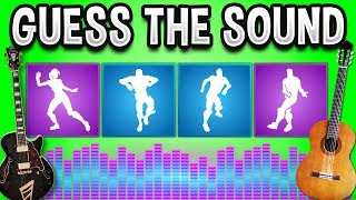 GUESS The FORTNITE DANCES ON GUITAR - Fortnite Quiz #3