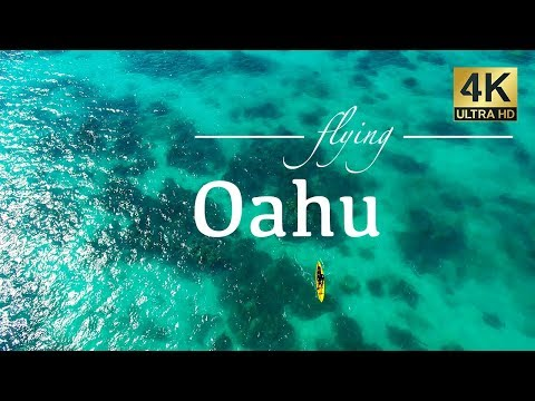 Oahu Hawaii By Drone - Kailua, Honolulu, Koko Head, Chinamans Hat, Diamond Head, Lanikai & More