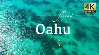 Oahu Hawaii By Drone - Kailua, Honolulu, Koko Head, Chinamans Hat, Diamond Head, Lanikai & More