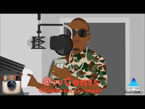 Kevin Gates, Juicy J, and Future Cartoon Clips