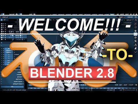Blender 2.8 Official Release!!! & FREE Gimp Normal Map Plug-In (Installation Tutorial) thumbnail