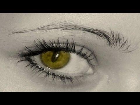 Как сделать кошачьи глаза в фотошопе