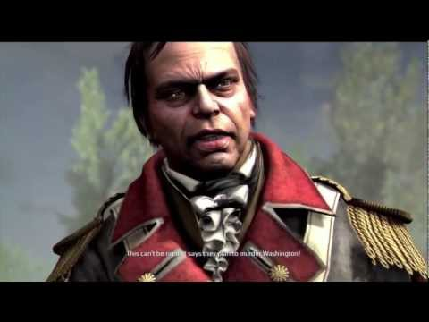 Assassin's Creed 3 Sequence 7 Assassinate John Pitcairn (Not Stealthy but Easy Way)