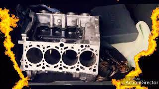 Table basse  moteur V8 4.2 Audi RS6