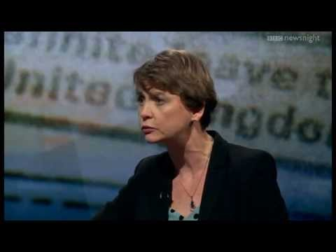 Yvette Cooper on immigration and Ed Miliband's leadership  - Newsnight