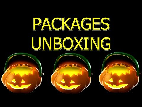 TF2: Unboxing Halloween Keyless Packages from Contracts ►Team Fortress 2◄