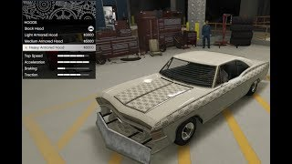 GTA 5 - Arena War DLC Vehicle Customization - Future Shock Declasse Impaler and Review