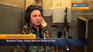 Thử nghiệm AK-12 - Vũ khí tương lai!