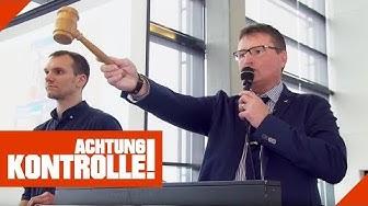Versteigerung von Schmuggelware & Pfändungen: Die Zoll-Auktion! | Achtung Kontrolle | kabel eins